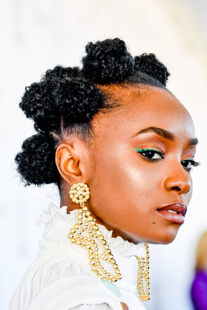 Bantu Knot Hair for you to try